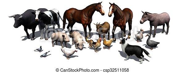 boerderijdieren - csp32511058