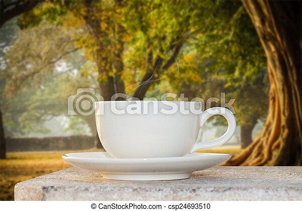 Morgenkaffee - csp24693510