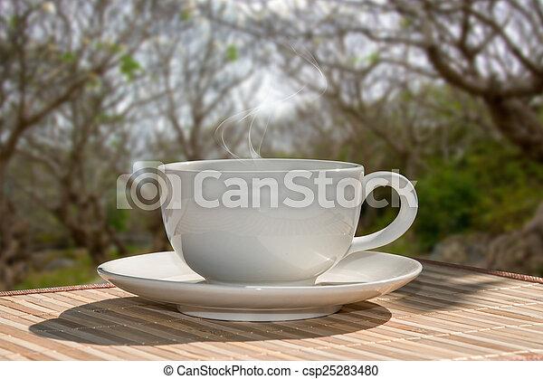 Morgenkaffee - csp25283480