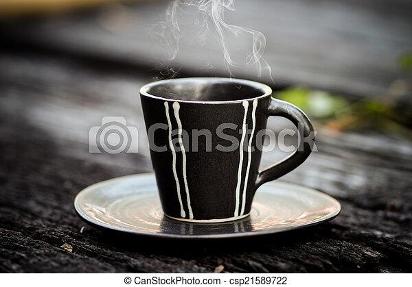 bohnenkaffee, morgen - csp21589722