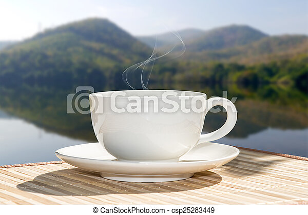 Morgenkaffee - csp25283449