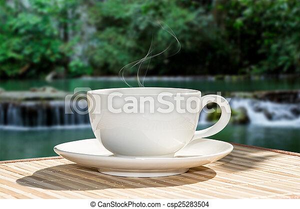 bohnenkaffee, morgen - csp25283504