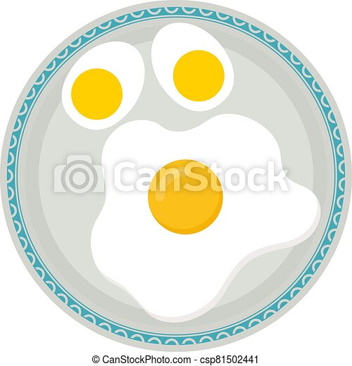 Boiled Eggs In Plate - csp81502441