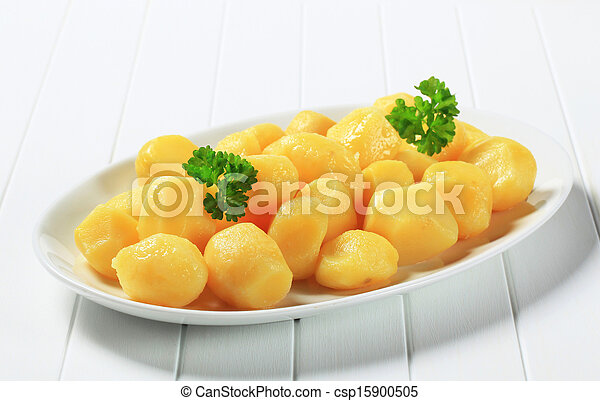 Boiled potatoes - csp15900505