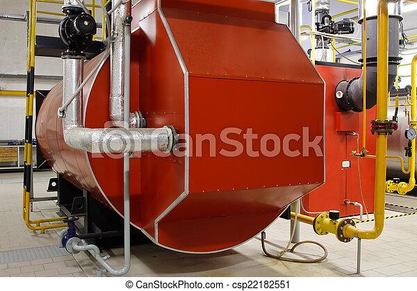 Boiler, industrie, gas, zimmer, dampfkessel Stockbilder - Suche ...