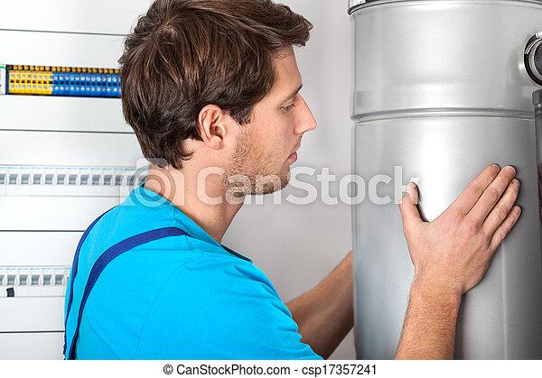 Boiler installation and handyman - csp17357241