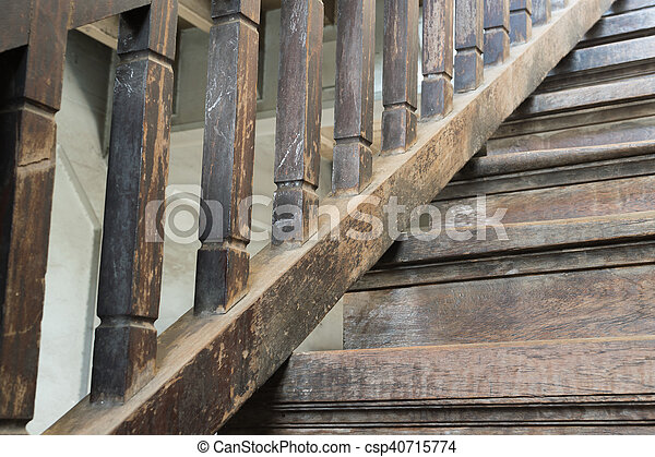 Bois Ancien Escalier