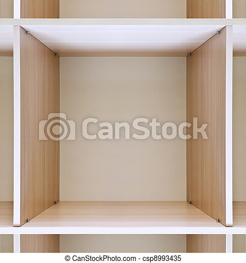 Bois casier vide bois grand magasin vide tag res images de stock rechercher des photos - Etagere casier bois ...