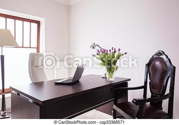 Bois luxe bureau bureau bureau bois chaises luxe bureau cuir