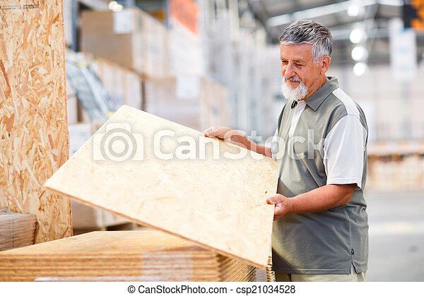bois, magasin, construction, bricolage, choisir, achat, homme - csp21034528