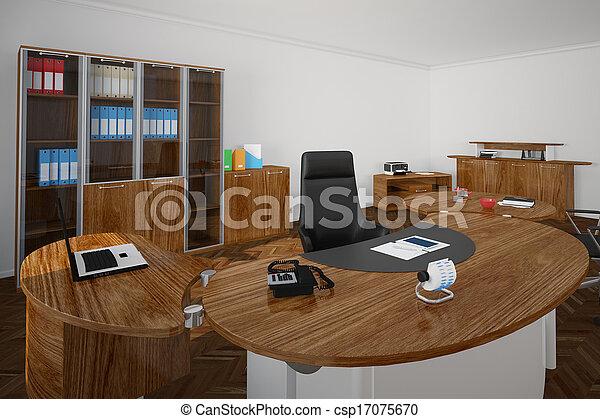 Bois meubles bureau bureau bois siège noir patron meubles