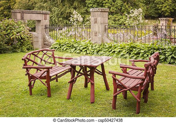 bois, meubles jardin