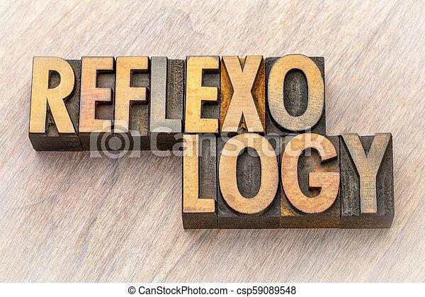bois, reflexology, mot, type, résumé - csp59089548