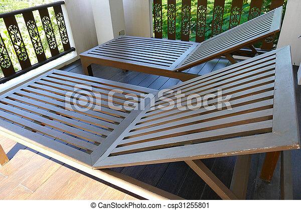 bois transat balcon csp31255801 - Transat Balcon