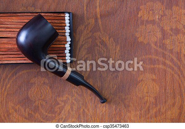 Bois tuyau luxe tabac bureau bois tuyau luxe tabac table