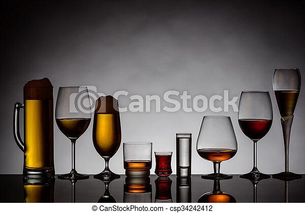 boissons alcooliques - csp34242412