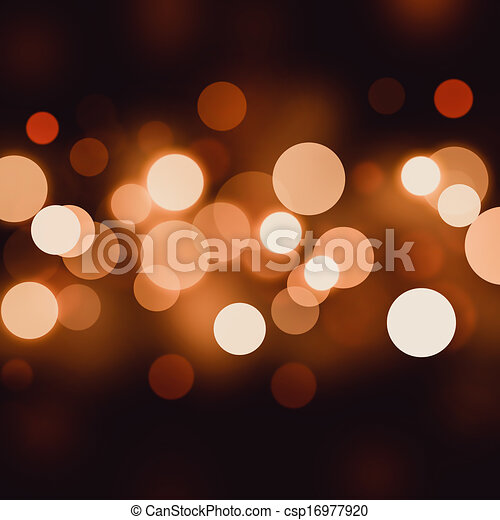 bokeh abstract background  - csp16977920