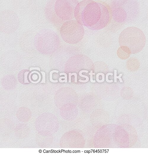 Bokeh abstract background with pink and lite pink colors - csp76450757