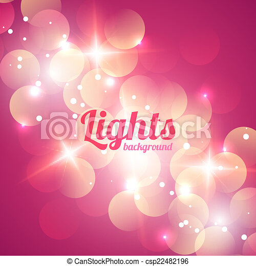 Bokeh Abstract Light Background - csp22482196