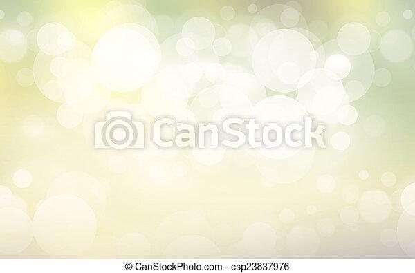 bokeh, abstrakt, bakgrund - csp23837976