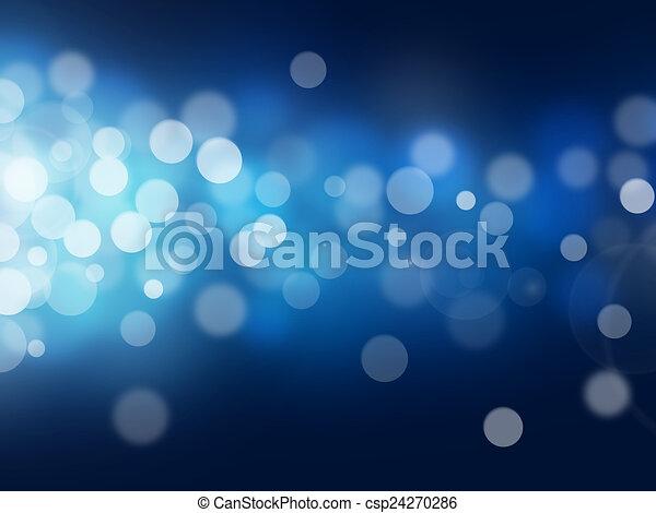 bokeh, baggrunde, abstrakt - csp24270286