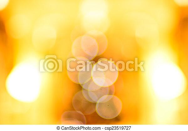 bokeh, fény - csp23519727