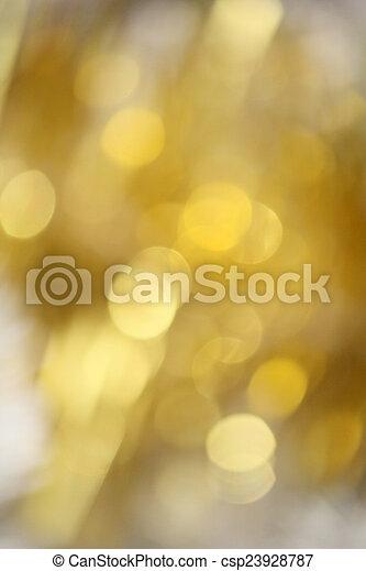 bokeh, goud - csp23928787