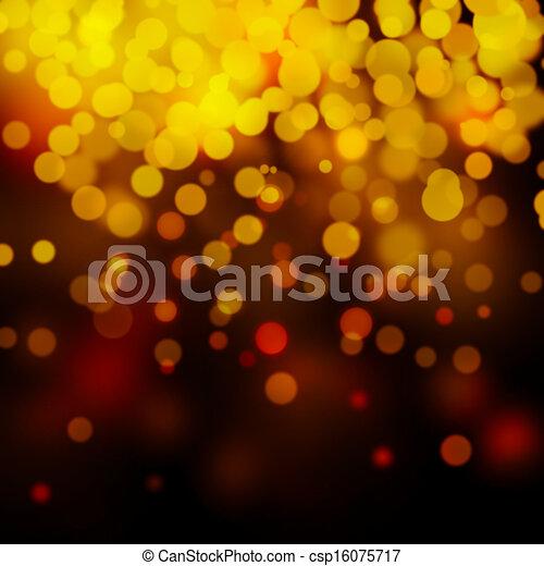 Bokeh light background  - csp16075717