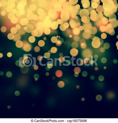 Bokeh light background  - csp16075698