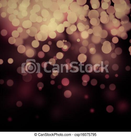 Bokeh light background  - csp16075795
