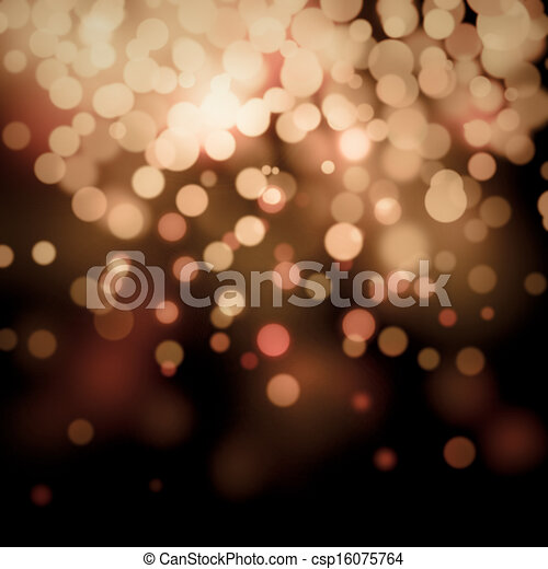 Bokeh light background  - csp16075764