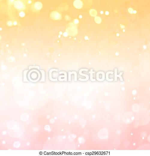 bokeh light vintage background - csp29632671