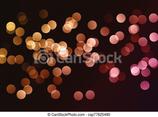 bokeh lights background 2401 - csp77625490