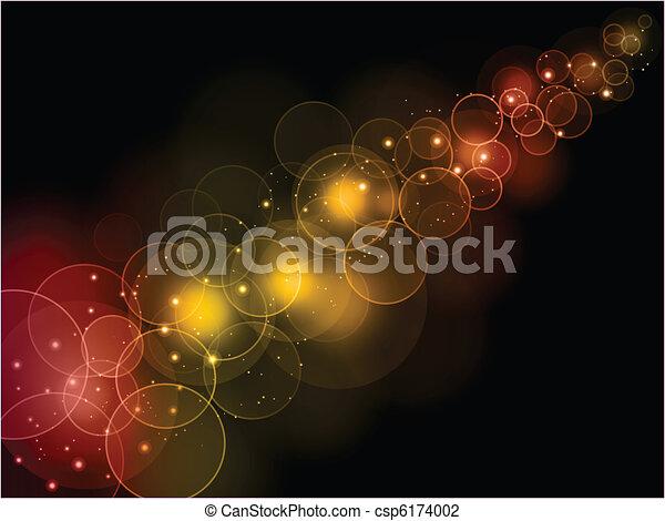 Bokeh lights background - csp6174002