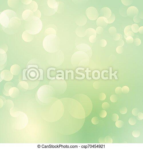 Bokeh lights background - csp70454921