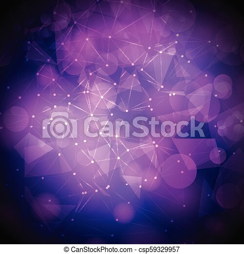 bokeh lights background with mesh design - csp59329957