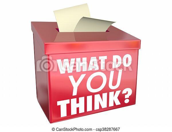 boks, co, część, ilustracja, zdanie, ty, myśleć, myśli, 3d - csp38287667