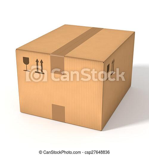 boks, tektura - csp27648836