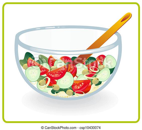 bol, salade - csp10430074