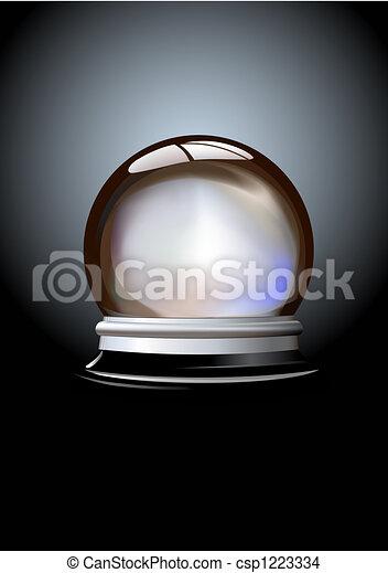 Bola de cristal - csp1223334