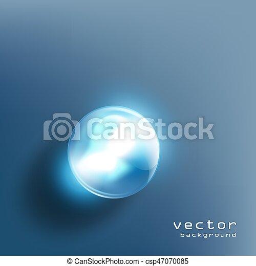 Bola de cristal - csp47070085