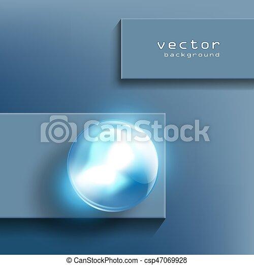 Bola de cristal - csp47069928
