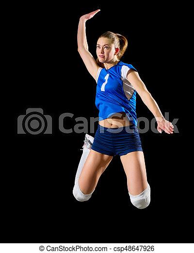 Bola net jovem voleibol isolado jogador sem menina ver bola net jovem voleibol isolado jogador sem menina stopboris Choice Image