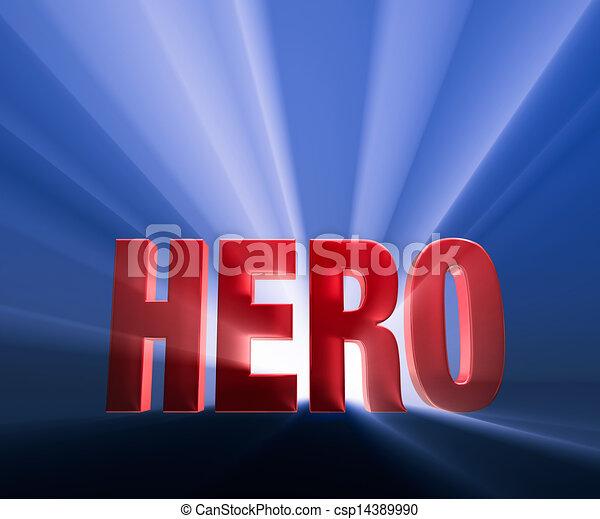 Bold Hero - csp14389990