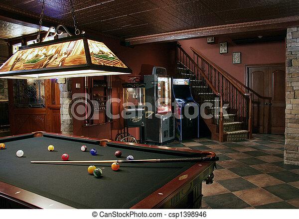 boldspil, rum - csp1398946