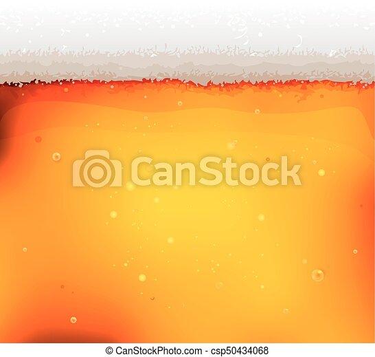 bolle, birra, fondo, struttura, schiuma - csp50434068