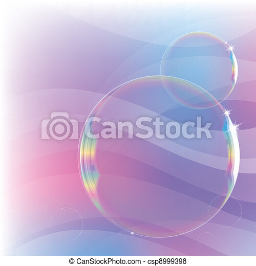 bolle, sapone, fondo - csp8999398