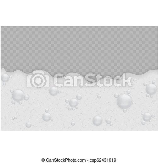 bolle, schiuma, fondo - csp62431019
