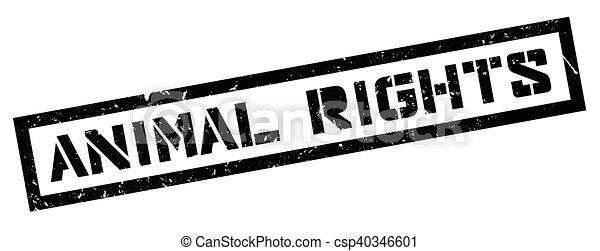 bollo gomma, diritti animali - csp40346601