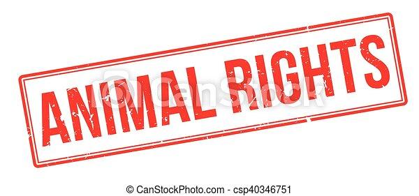 bollo gomma, diritti animali - csp40346751
